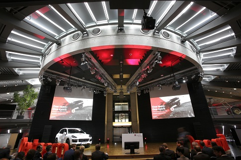 rothfabrik One team – One spirit bei Porsche in Leipzig