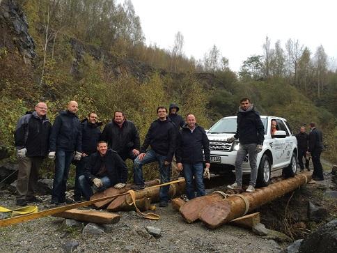 rothfabrik Offroad Driving Experience bei Land Rover in Wülfrath bei Düsseldorf